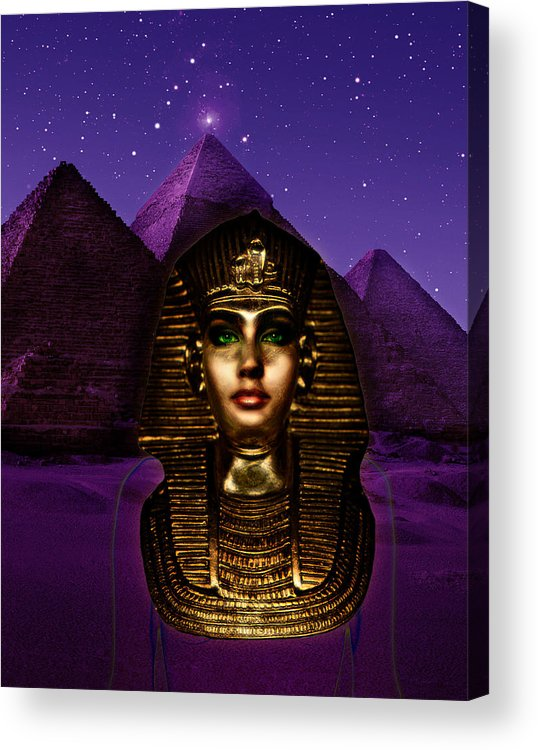 Egypt Acrylic Print featuring the photograph Goddess by Jim Painter