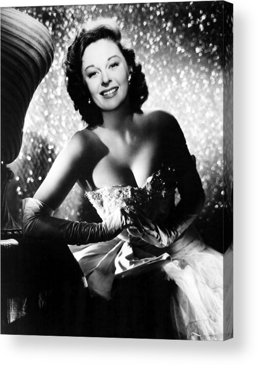 1950s Portraits Acrylic Print featuring the photograph Ill Cry Tomorrow, Susan Hayward, 1955 by Everett