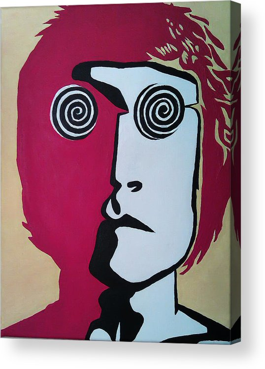John Acrylic Print featuring the painting Lennon by Kenny Cannon