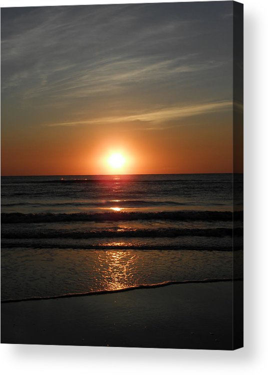 Sunrise Acrylic Print featuring the photograph Reflections Of The Rise by Kim Galluzzo Wozniak