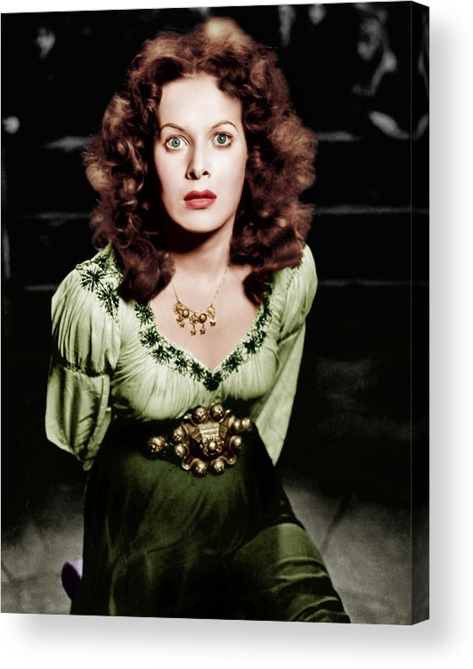 1930s Movies Acrylic Print featuring the photograph The Hunchback Of Notre Dame, Maureen by Everett