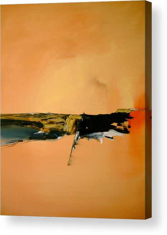 Abstract Acrylic Print featuring the painting A Manifestation Of Full Splendor by Stefan Fiedorowicz