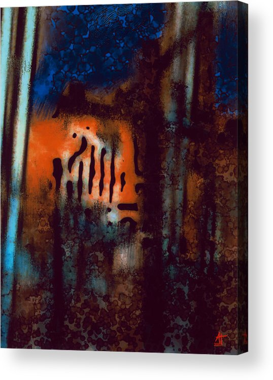 Photography Acrylic Print featuring the painting Message 3 by Ann Tracy