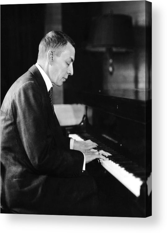 Russian Composer And Pianist Sergei Acrylic Print