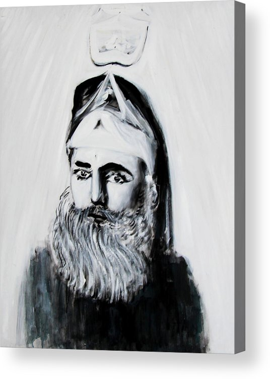 Sacred Acrylic Print featuring the painting Sufi by Alexander Carletti