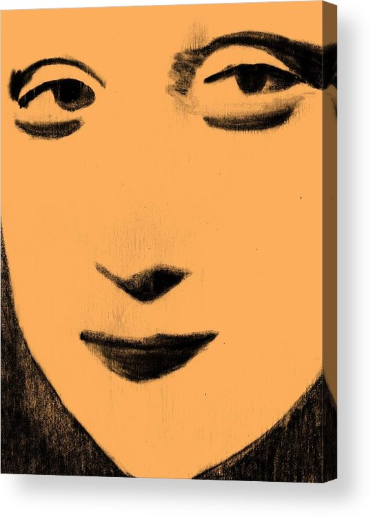 Woman Acrylic Print featuring the mixed media Truth by Jennifer Ott