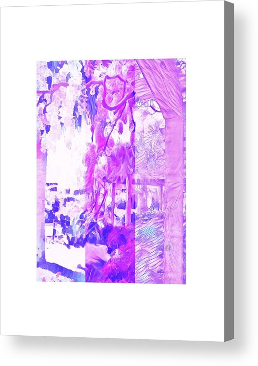 Bright Acrylic Print featuring the photograph 1913 by Candee Lucas