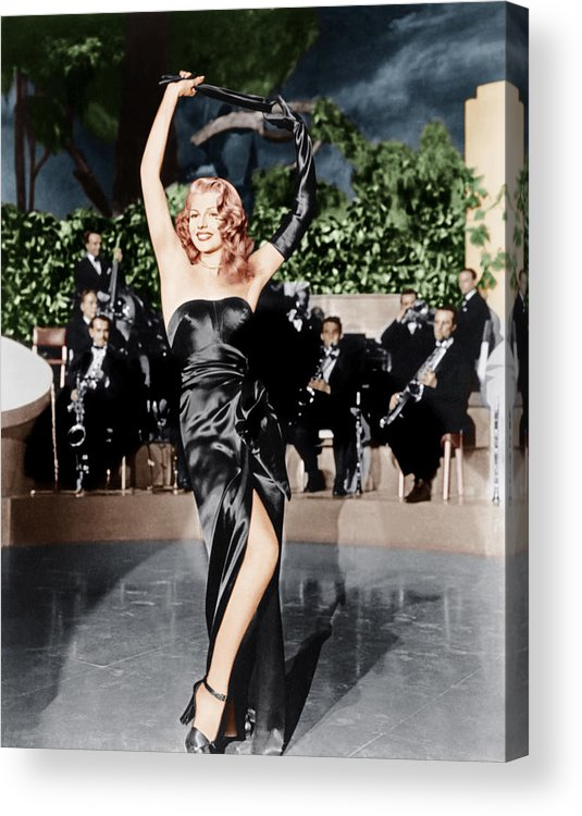 1940s Movies Acrylic Print featuring the photograph Gilda, Rita Hayworth, 1946 by Everett