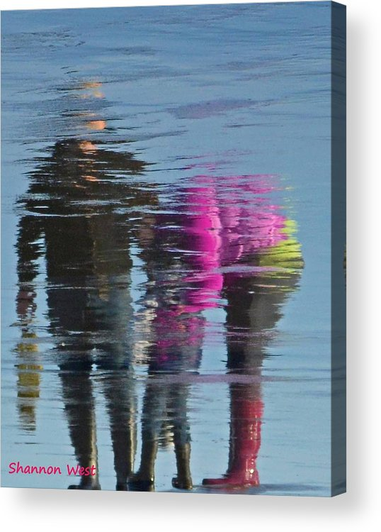Award Winning Photo Acrylic Print featuring the photograph A Mothers Love by Shannon West