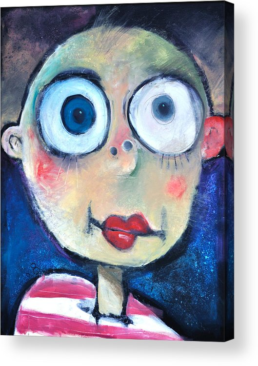 Child Acrylic Print featuring the painting As A Child by Tim Nyberg
