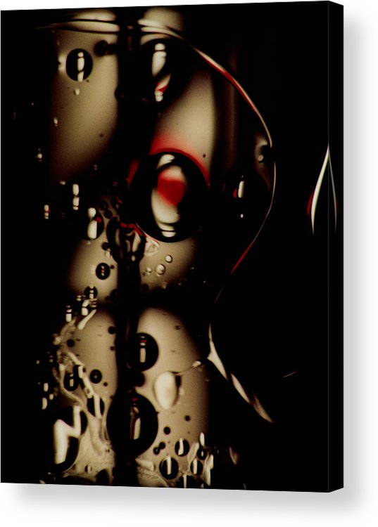 Abstract Acrylic Print featuring the photograph Blade Runner by David Rivas