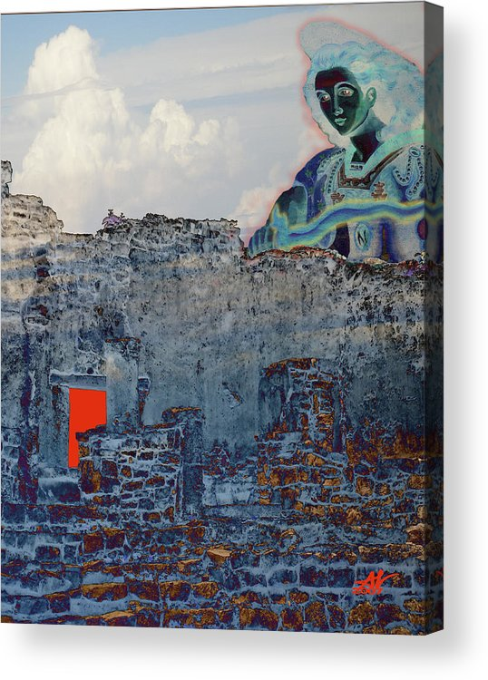 Tulum Ruins Acrylic Print featuring the photograph Dream Of Tulum Ruins by Ann Tracy
