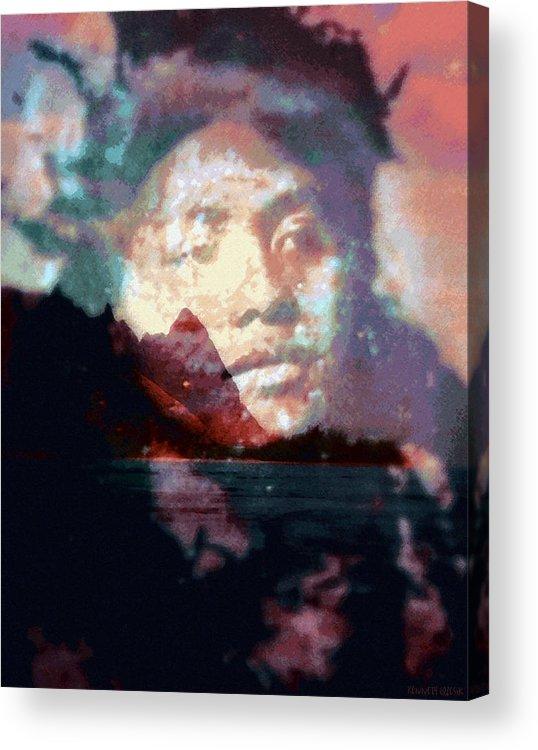 Tropical Interior Design Acrylic Print featuring the photograph Ho Okahiko by Kenneth Grzesik