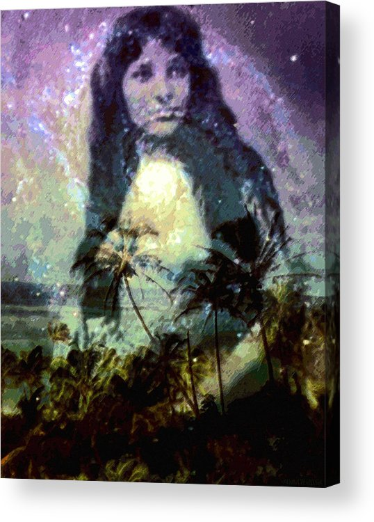 Tropical Interior Design Acrylic Print featuring the photograph Ho Omana O by Kenneth Grzesik