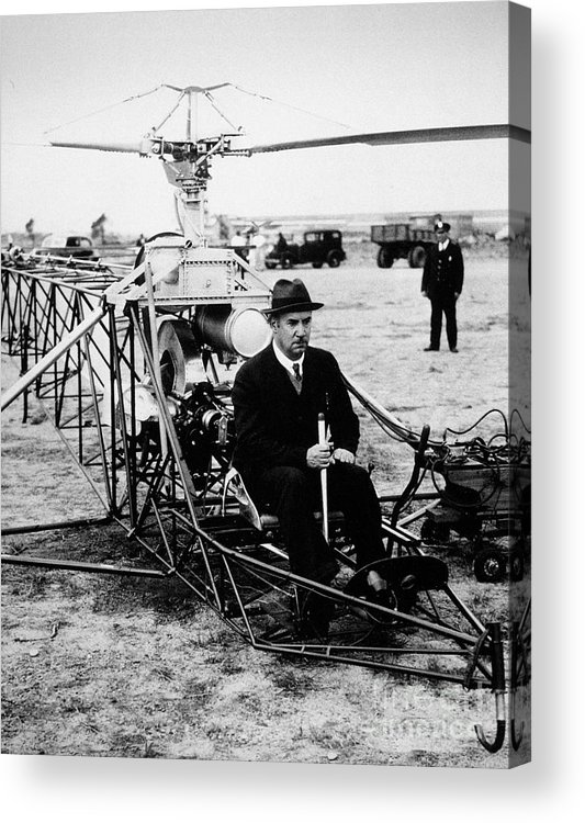 1940 Acrylic Print featuring the photograph Igor Ivan Sikorsky by Granger