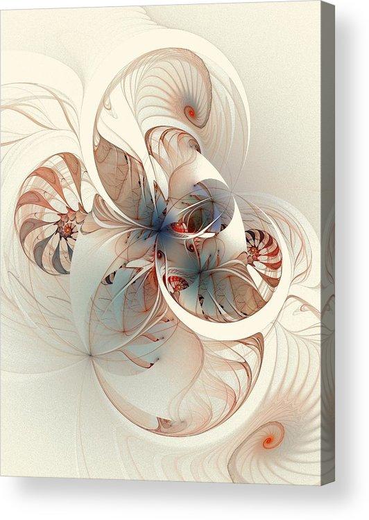 Acrylic Print featuring the digital art Mollusca by Amanda Moore