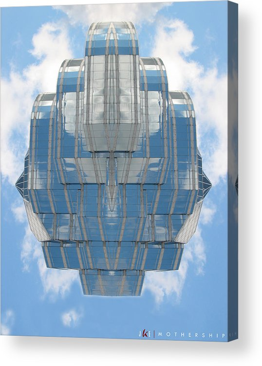 Sky Acrylic Print featuring the photograph Mothership by Jonathan Ellis Keys
