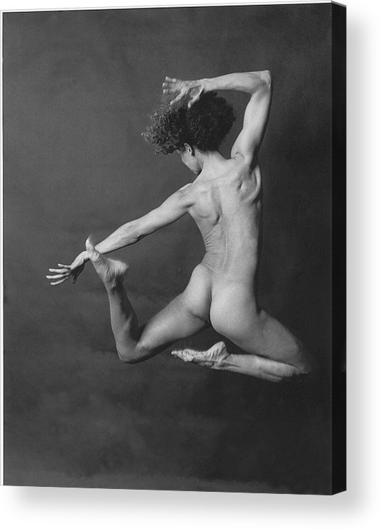 Nude Acrylic Print featuring the photograph Nude Dancer by Carmine Scarpa