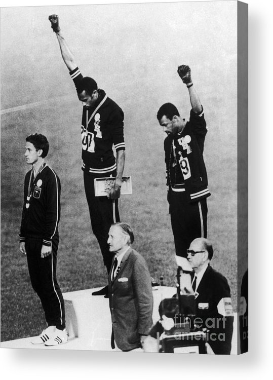 1960s Acrylic Print featuring the photograph Olympic Games, 1968 by Granger