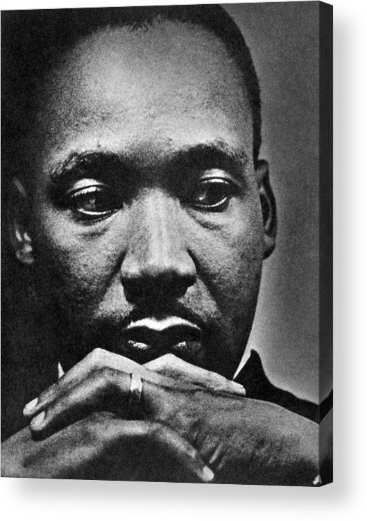 African American Acrylic Print featuring the photograph Rev. Martin Luther King Jr. 1929-1968 by Everett