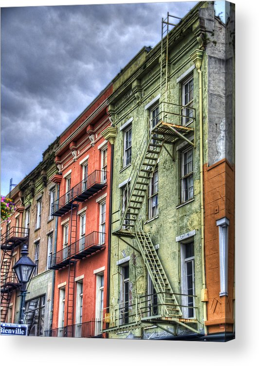 Rue Acrylic Print featuring the photograph Rue Bienville by Tammy Wetzel
