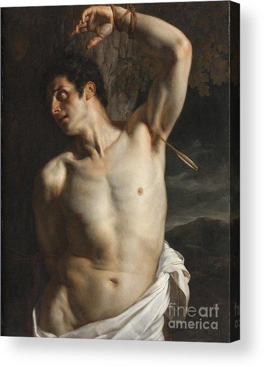 Hippolyte Paul Delaroche St. Sebastian painting - St