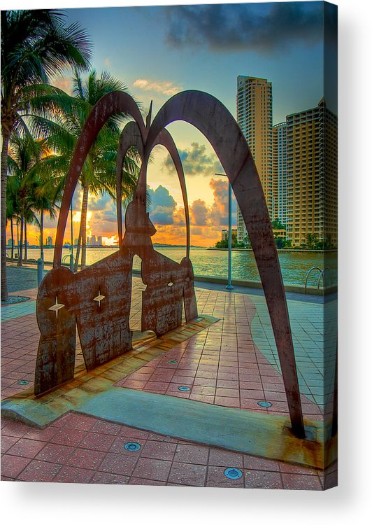 duenos De Las Estrellas Acrylic Print featuring the photograph Sunrise With Owners Of The Stars by William Wetmore