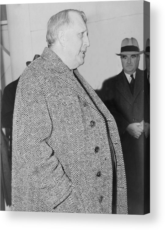 History Acrylic Print featuring the photograph William Randolph Hearst, Sr. 1863-1951 by Everett