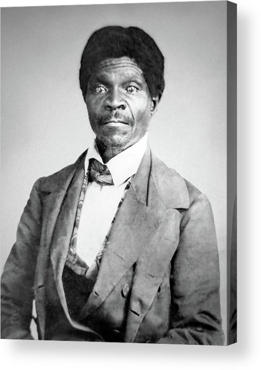 1857 Acrylic Print featuring the photograph Dred Scott, American Civil Rights Hero by Science Source