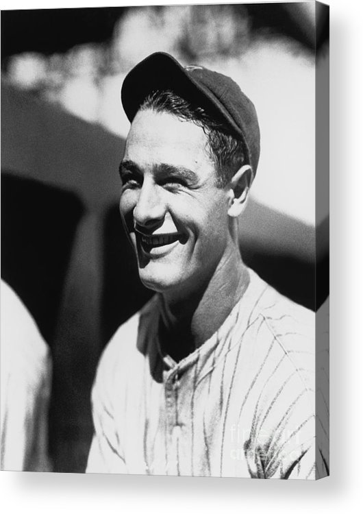 People Acrylic Print featuring the photograph National Baseball Hall Of Fame Library 25 by National Baseball Hall Of Fame Library