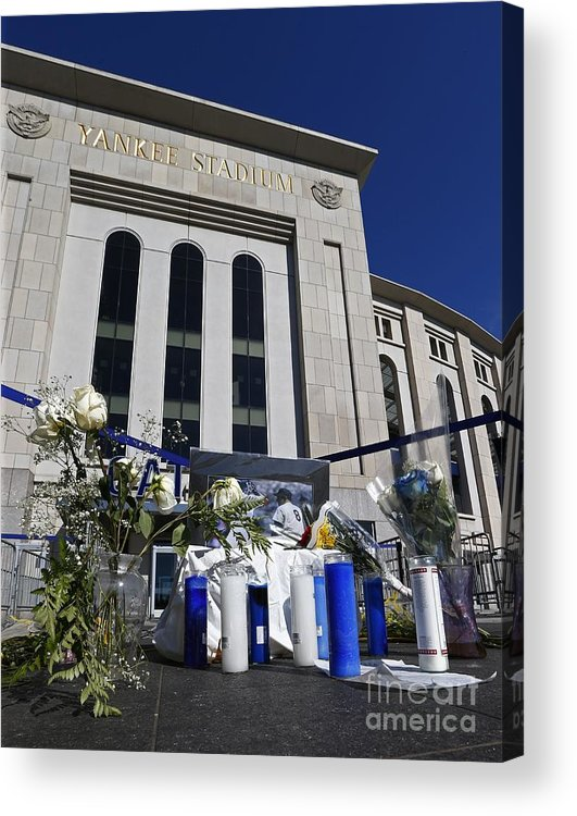 American League Baseball Acrylic Print featuring the photograph Chicago White Sox V New York Yankees 3 by Rich Schultz