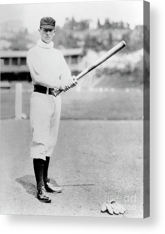 American League Baseball Acrylic Print featuring the photograph National Baseball Hall Of Fame Library by National Baseball Hall Of Fame Library