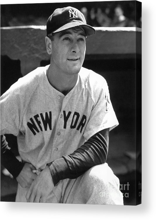 People Acrylic Print featuring the photograph Mlb Photos Archive by National Baseball Hall Of Fame Library