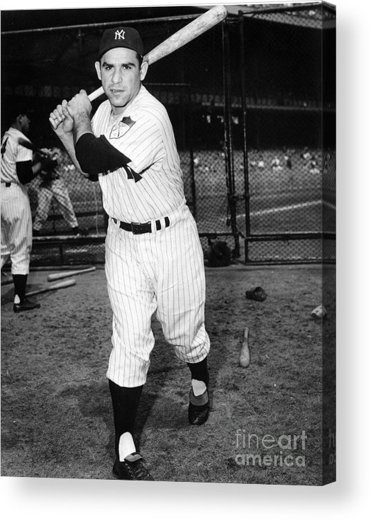 People Acrylic Print featuring the photograph New York Yankees by National Baseball Hall Of Fame Library