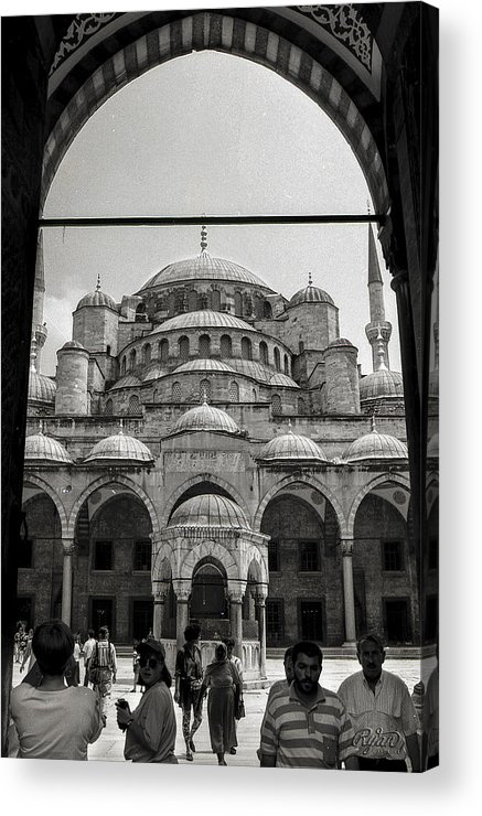 Sultan Acrylic Print featuring the photograph Sultan Ahmed Mosque by Ryan Cosgrove