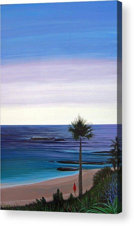 Malibu Beach Acrylic Print featuring the painting Summer Samba by Hunter Jay