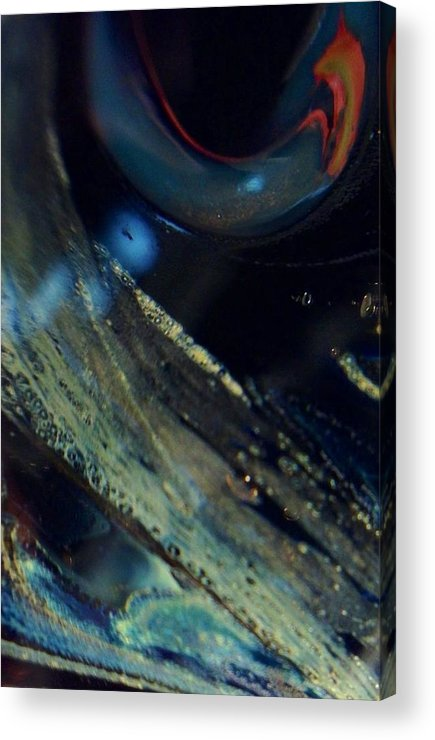 Glass Acrylic Print featuring the photograph Watchful by Gaby Tench