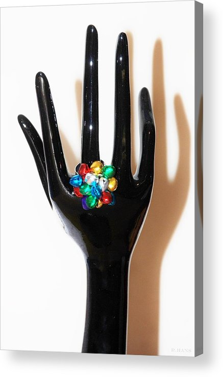 Hand Acrylic Print featuring the photograph The Arm And Hand by Rob Hans