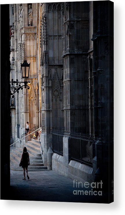 Barcelona Acrylic Print featuring the photograph Day's End by RicharD Murphy
