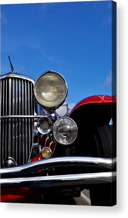 Vintage Acrylic Print featuring the photograph Duesenberg by Tim Nyberg