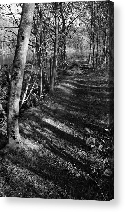 Bw Acrylic Print featuring the photograph Alone by Joanne Coyle