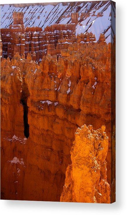 Bryce Acrylic Print featuring the photograph Bryce Amphitheater by Viktor Savchenko