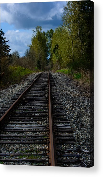 Landscape Acrylic Print featuring the photograph Making Tracks by Tikvah's Hope