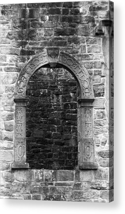 Irish Acrylic Print featuring the photograph Window At Donegal Castle Ireland by Teresa Mucha