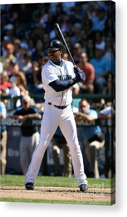 People Acrylic Print featuring the photograph New York Yankees V Seattle Mariners 16 by Otto Greule Jr