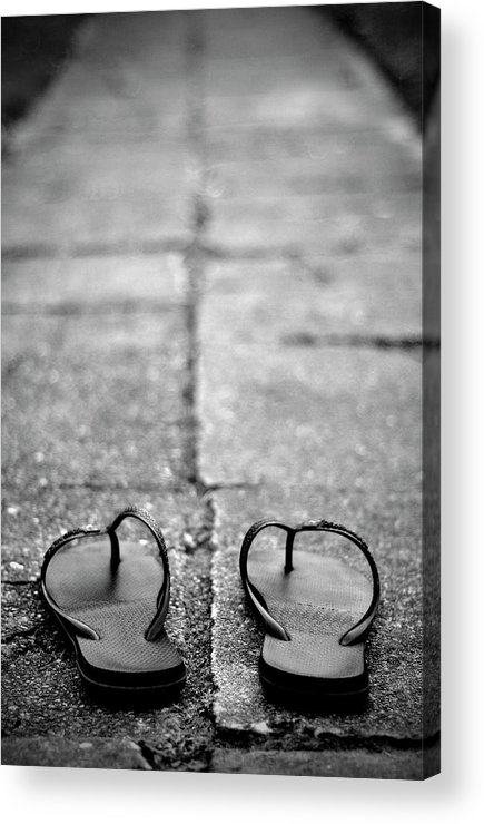 Copenhagen Acrylic Print featuring the photograph Sandals by Photography På
