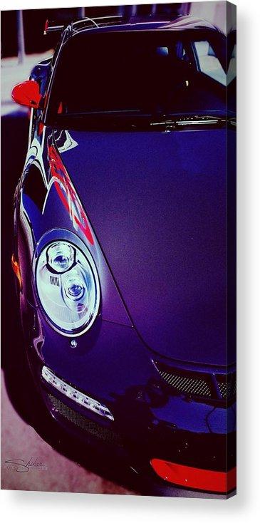 Porsche Acrylic Print featuring the photograph Porsche Gt3 Rs by Shehan Wicks