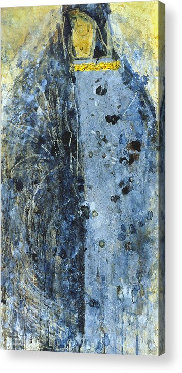 Altar Acrylic Print featuring the painting Angel 2 by Valeriy Mavlo