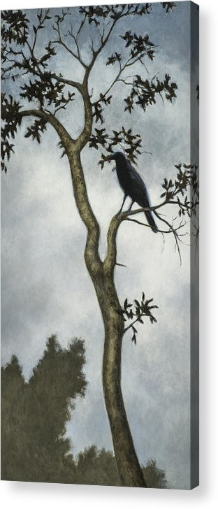 Crow Acrylic Print featuring the painting Big Sur by David Palmer