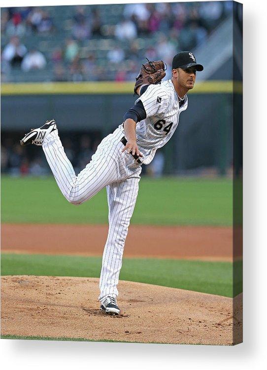 American League Baseball Acrylic Print featuring the photograph Arizona Diamondbacks V Chicago White Sox 1 by Jonathan Daniel